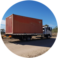 Container Transport Icon